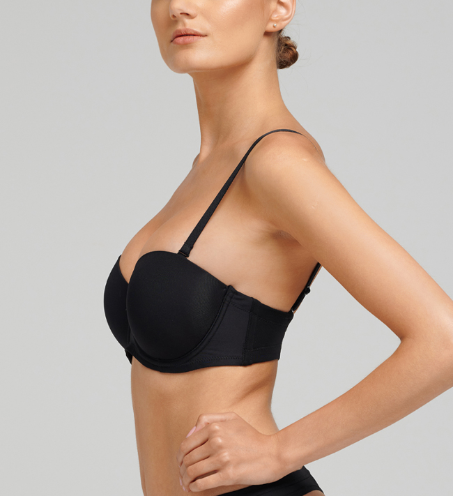 Basic Biustonosz Jasmine Seamless Stay Up other Black